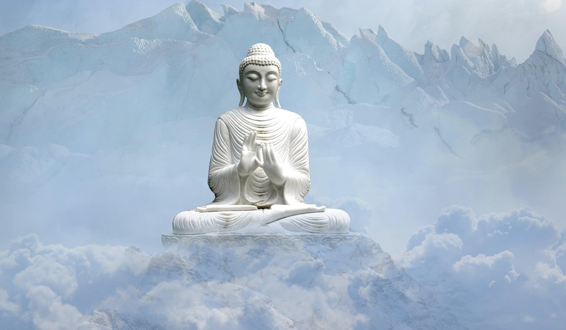 Meditation und Yoga - Buddha
